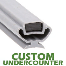 Profile 829 - Custom Undercounter Door Gasket