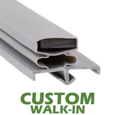 Profile 169 - Custom Walk-in Door Gasket