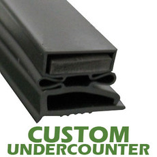 Profile 496 - Custom Undercounter Door Gasket
