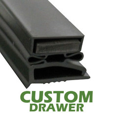 Profile 496 - Custom Drawer Gasket
