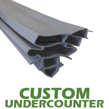 Profile 327 - Custom Undercounter Door Gasket