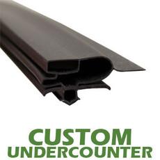 Profile 697 - Custom Undercounter Door Gasket