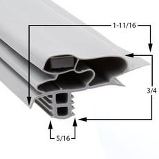 Profile 618 - Custom Walk-in Door Gasket
