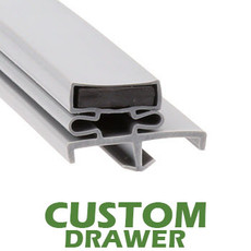 Profile 168 - Custom Drawer Gasket