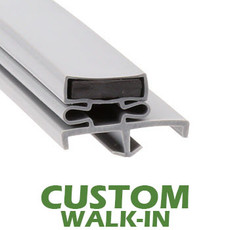 Profile 168 - Custom Walk-in Door Gasket