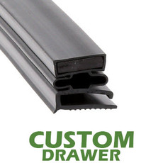 Profile 493 - Custom Drawer Gasket