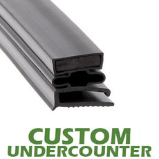 Profile 493 - Custom Undercounter Door Gasket
