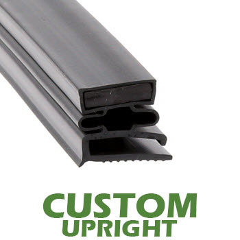 Profile 493 - Custom Upright Door Gasket