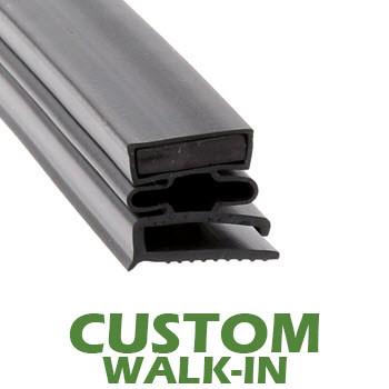 Profile 493 - Custom Walk-in Door Gasket