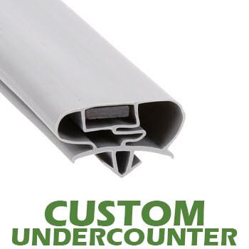 Profile 677 - Custom Undercounter Door Gasket