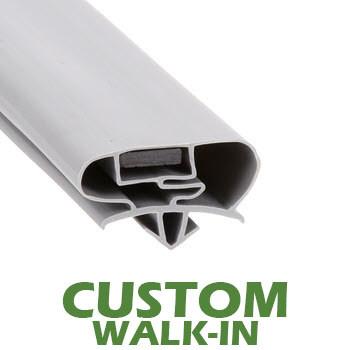 Profile 677 - Custom Walk-in Door Gasket