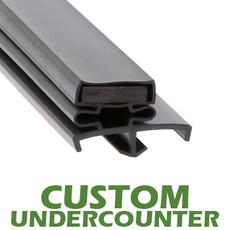 Profile 167 - Custom Undercounter Door Gasket