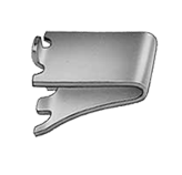 Stainless Steel Shelf Clip - Kason 0067