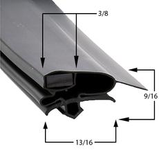 Turbo Air Gasket Profile 697 26 x 27