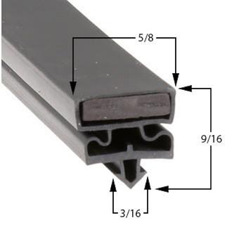 Styleline 5595BCK1 Gasket 25 5/8 x 63