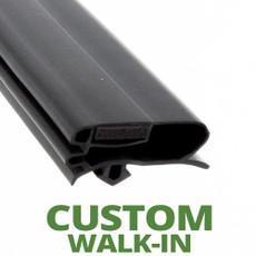 Profile 229 - Custom Walk-in Door Gasket