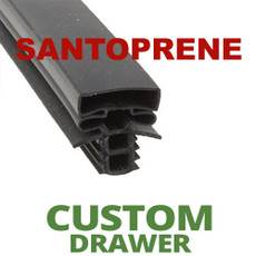 Profile 896 - Custom Drawer Gasket