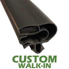 Profile 599 - Custom Walk-in Door Gasket