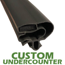 Profile 599 - Custom Undercounter Door Gasket