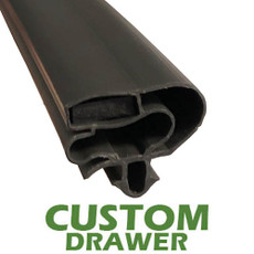 Profile 599 - Custom Drawer Gasket