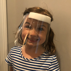 Reusable Baby / Toddler Face Shields (GRGDBFS)