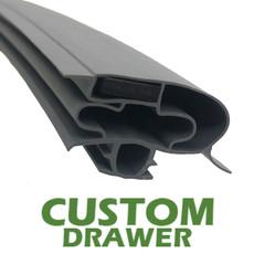 Profile 598 - Custom Drawer Gasket