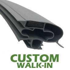 Profile 598 - Custom Walk-in Door Gasket