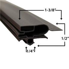 Turbo Air T3F0500301 Gasket 17 7/8 x 53