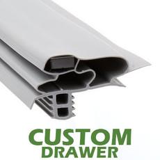 Profile 618 - Custom Drawer Gasket