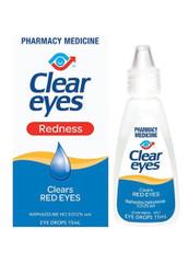Clear Eyes Redness Eye Drops 15ml