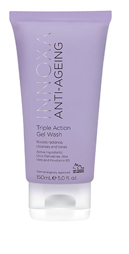 Innoxa Anti-Ageing Triple Gel Wash 150ml