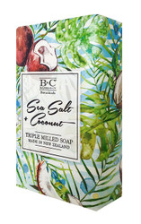 Sea Salt & Coconut Soap 200g