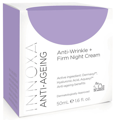 Innoxa Anti-Ageing Anti-Wrinkle & Firm Night Cream 50ml