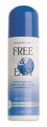 Innoxa Free & Easy Fragrance Free Deodorant Roll-on 100ml