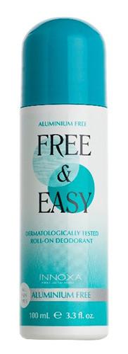 Innoxa Free & Easy Aluminium Free Deodorant Roll-on 100ml