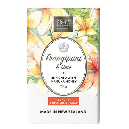 Frangipani & Lime Soap 200g