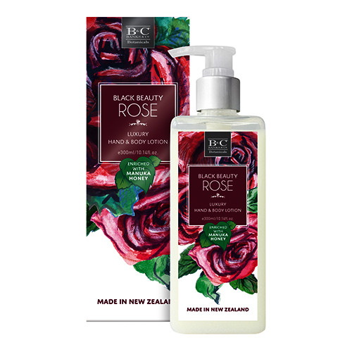 Black Rose Luxury Hand & Body Lotion 300ml