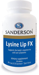 Sanderson Lysine Lip FX 60 tablets