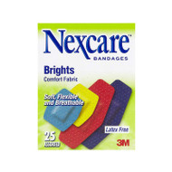 Nexcare™ Latex Free Brights Bandages, 25 Assorted