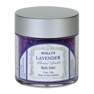 Scullys Lavender Bath Salts 250gm