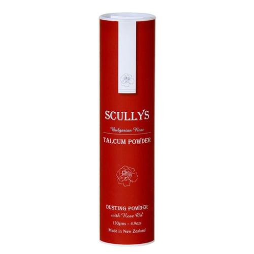 Scullys Rose Talcum Powder, 130g