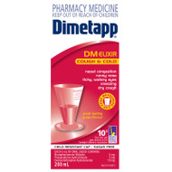 Dimetapp DM Elixir Cough and Cold 200ml