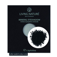 Living Nature Mineral Eyeshadow Slate Matte soft black