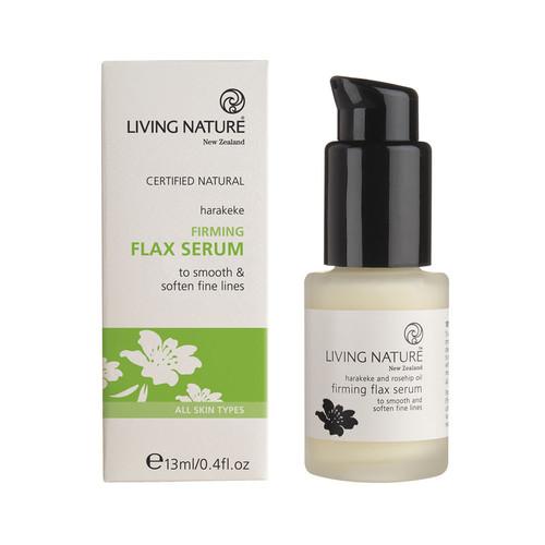 Living Nature Firming Flax Serum 13ml