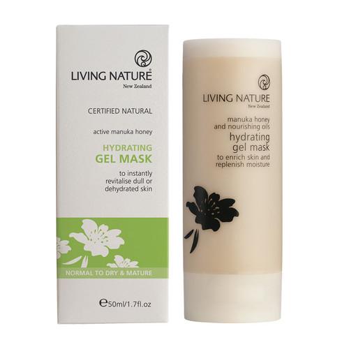 Living Nature Hydrating Gel Mask 50ml