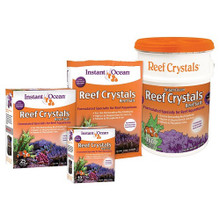 Enriched formulation. Optimum effectiveness. Formulated specially for use in reef aquariums, Reef Crystals contains essential ocean reef elements in concentrations greater than those found in natural sea water.