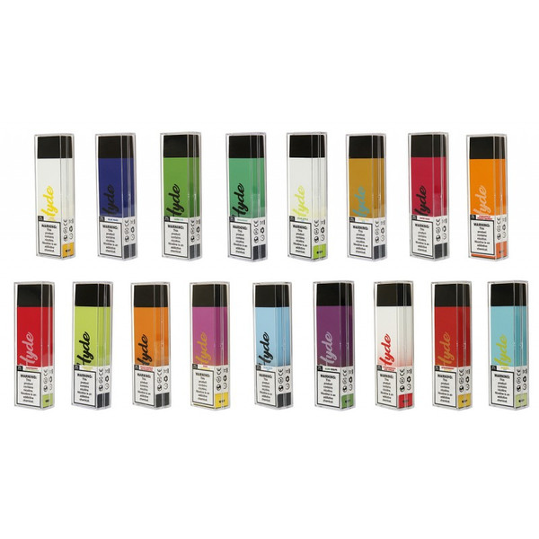 Hyde Recharge PLUS 3300 Puffs Adjustable Airflow Disposable Crystal Lake IL
