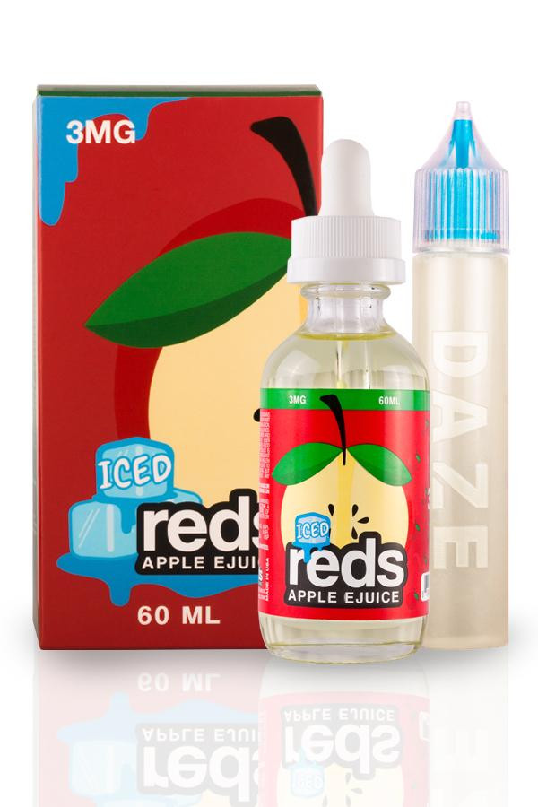 7daze reds apple ejuice iced