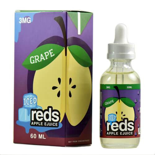 7 daze reds apple ejuice grape iced