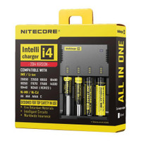 Nitecore Intellicharger i4 18650 Battery Charger